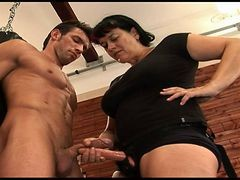 Cfnm Dare To Compare: His Cock Vs Her Strap On