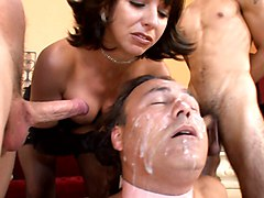 Cuckold Bi At Hands Of Brutal Mistress