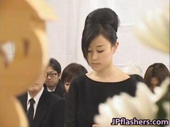 Asian Girls Go To Church Half Nude Part3