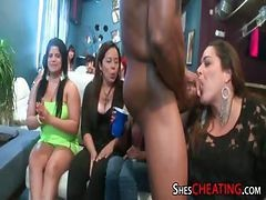 Bachelorette Party Sluts Deepthroat Big Cocks