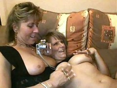 Hot Euro Mature Cougars Threesome