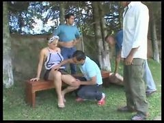 Brazilian Maid Dp Gangbang