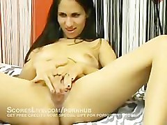 Webcam Girl Goes Crazy Fingerjacking Herself Watch Live Now Haha