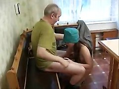Cute Nurse Teen seduced by ugly Old Patient