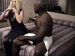 Hubby Films His Cream-skinned Wife Grinding On A Huge Black Shaft