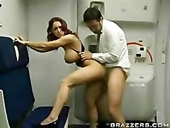 DaMn the stewardess.....