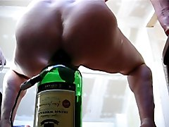 bottle in the ass