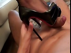 bootjob = highheeljob = footjob =cumeating + stockings