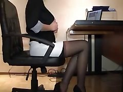 sexy secretary hot hidden cam