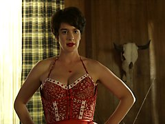 gaby hoffmann flashes her hairy bush