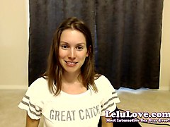 lelu love-webcam: riding sybian pussy fingering