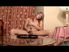 ladyboy squirt on table
