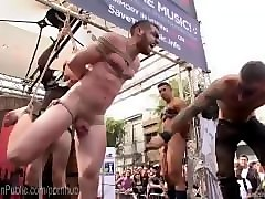 street fair whore brutally humiliated