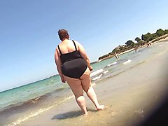 black swimsuit bbw
