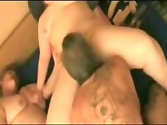 lucky dude has an ffm threesome with two bbw