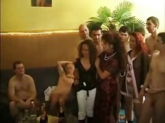German Swinger Party Orgy - Part 1 - By Poliu