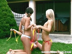 Cutie Teens Outdoor Playing