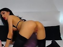 Amazing webcam babe Our1secret riding dildo
