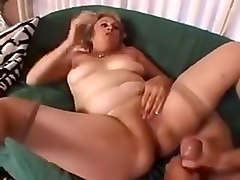 Crazy Homemade video with Stockings, Mature scenes