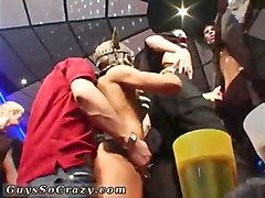 nasty twinks have a crazy orgy party