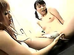 seductive japanese girls explore their lesbian desires in t