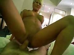 Tattoed euro milf fucked in the cooter