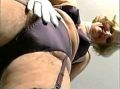Hairy Mature Slow Tease and Spread