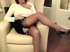 Amazing Homemade clip with Stockings, Brunette scenes