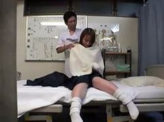 Japanese Woman get a massage and a fuck II