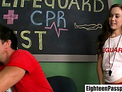 hardcore student emily fucked by lifeguard