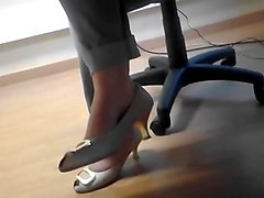 Candid my lawer sexy heels and feet partie 1