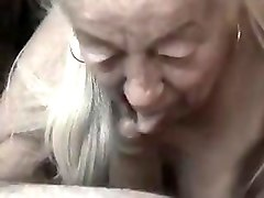Crazy Homemade clip with Grannies, Blowjob scenes
