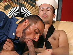 David Madrid & Tom Colt in Barebacking In Uniforms Scene 1 - Bromo