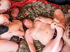 5-Man Sex Den Orgy - Part 2 - BearFilms