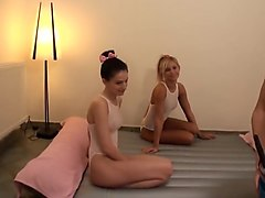 Swimsuit nuru massage 3 way