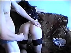 Hottest Amateur movie with Stockings, Brunette scenes