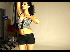 indian college girl juicy big tits nice striptease show