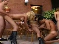 Bisex Orgy Outdoors