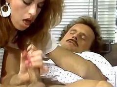 Vintage sex video with group orgy