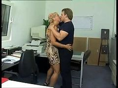 German Mature Office Anal Sex