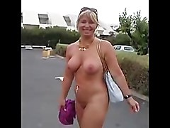 Sexy Nudist Lady