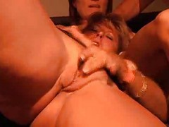 Orgy Features Many Milfs Getting It On